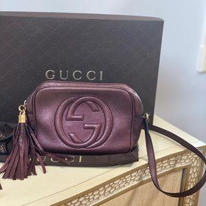 Gucci Soho Disco Purple Camera Bag